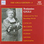 Gigli Edition, Vol 3 (CD)
