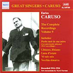 Caruso - Complete Recordings Vol 9 (CD)
