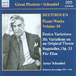 Beethoven: Piano Works, Vol 10 (CD)
