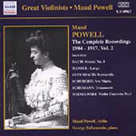 Maud Powell - Complete Recordings 1904-17, Vol 2 (CD)