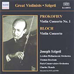 Bloch; Prokofiev: Violin Concertos (CD)