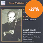Produktbilde for Bloch; Prokofiev: Violin Concertos (CD)