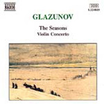 Glazunov: The Seasons/Violin Concerto (CD)