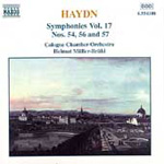 Haydn: Symphonies Nos 54,56 and 57 (CD)