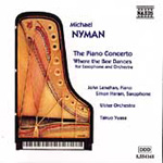 Nyman: The Piano Concerto & Where the Bee Dances (CD)