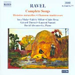 Ravel: Songs (CD)