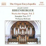 Rheinberger: Organ Works, Volume 2 (CD)