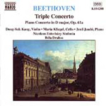 Beethoven: Triple Concerto; Piano Concerto, Op 61. (CD)
