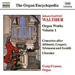 Walther: Organ Works, Vol 1 (CD)