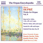 Dupré: Organ Works, Volume 9 (CD)