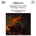 Sibelius: Syms Nos 6 & 7 etc (CD)