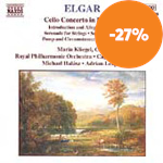 Produktbilde for Elgar: Cello Concerto; Orchestral Works (CD)