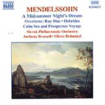 Mendelssohn: Orchestral Works (CD)