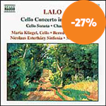 Lalo: Cello Concerto; Cello Sonata; Chants Russes for Cello & Piano (CD)