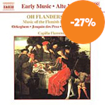 Produktbilde for Music of the Flemish Renaissance (CD)