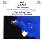 Glass: Violin Concerto & Company (CD)