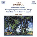 Mompou: Piano Works, Volume 3 (CD)