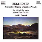 Beethoven: Complete String Quartets, Volume 8 (CD)