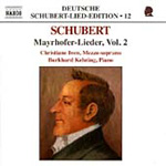 Schubert: Mayrhofer-Lieder, Vol 2 (CD)