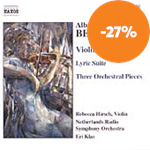 Berg: Violin Concertos; Lyric Suite; Orchestral Pieces Op 6 (CD)