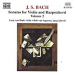 Bach: Violin Sonatas, Volume 2 (CD)