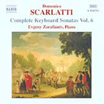 Scarlatti: Complete Keyboard Sonatas, Vol 6 (CD)