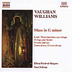 Vaughan Williams: Mass in G minor; Choral Works (CD)