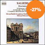 Produktbilde for Salieri: Overtures (CD)
