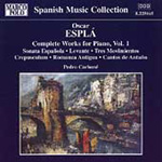 Esplá: Complete Works for Piano, Volume 1 (CD)