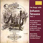 On Stage with Johann Strauss II, Vol 1 (CD)