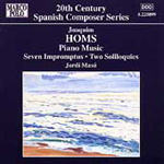 Homs: Piano Music (CD)