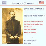 Sousa: Wind Band Music, Vol 4 (CD)