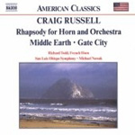Russel: Rhapsody for Horn and Orchestra (CD)