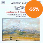 Produktbilde for Chadwick: Symphony No 2; Symphonic Sketches (UK-import) (CD)
