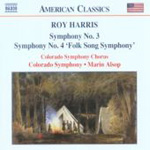 Harris, R: Symphonies Nos 3 and 4 (CD)