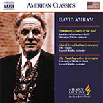 Amram: Symphony, Songs of the Soul (CD)