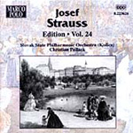 Josef Strauss Edition, Vol 24 (CD)