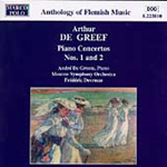 De Greef: Piano Concertos Nos 1 and 2 (CD)
