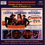 Herrmann: Garden of Evil; Prince of Players - excs (CD)