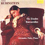Rubinstein, A: Six Etudes Op 23; Six Barcarolles (CD)