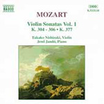 Mozart: Violin Sonatas, Vol. 1 (CD)