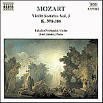 Mozart: Violin Sonatas, Vol 3 (CD)