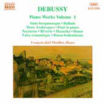Debussy: Piano Works, Vol.1 (CD)