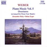 Weber: Piano Works, Vol 5 - Overtures (CD)