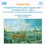 Veracini: Overtures Nos 1,2,3,4 and 6 (CD)