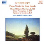 Schubert - Piano Works for Four Hands, Vol 2 (CD)