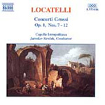 Locatelli: Concerti Grossi, Op 1 Nos 7-12 (CD)
