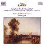 Parry: Orchestral Works (CD)