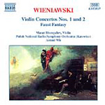 Wieniawski: Violin Concertos Nos 1 and 2; Faust Fantasy (CD)