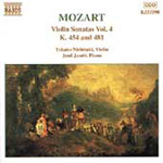 Mozart: Violin Sonatas, Vol 4 (CD)